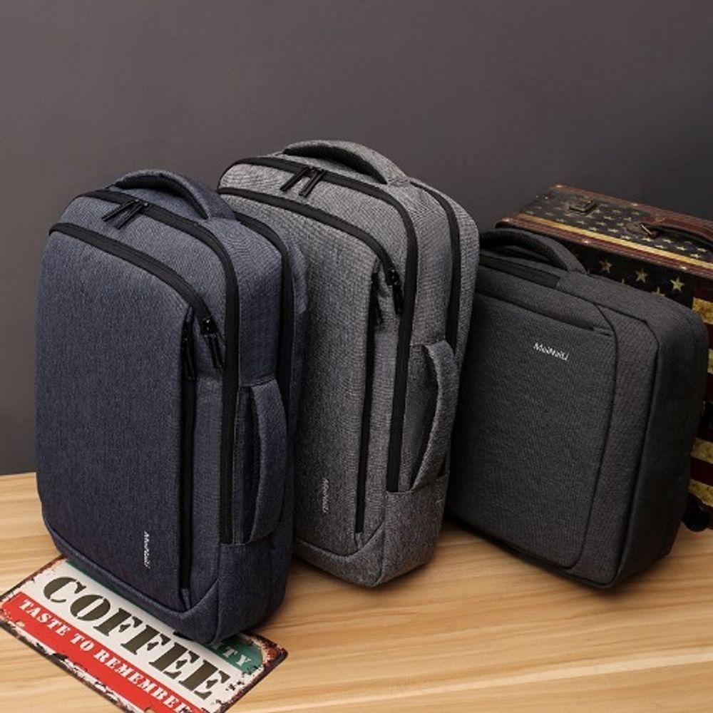 MEINAILI 폴리 15.6인치 노트북 가방 노트북백팩