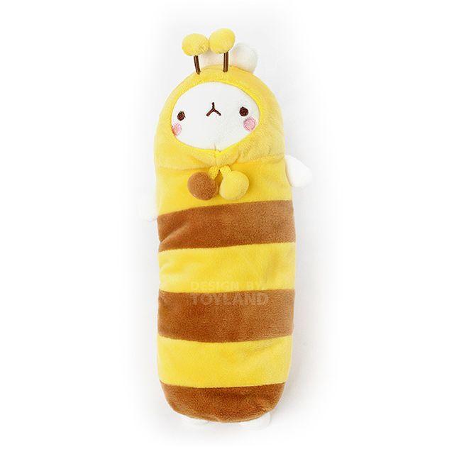 몰랑이 패션 봉제필통 꿀벌 파우치 러블리 캐릭터