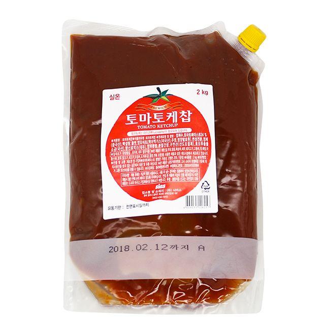 시아스 sias 토마토 케찹 2kg X 3ea
