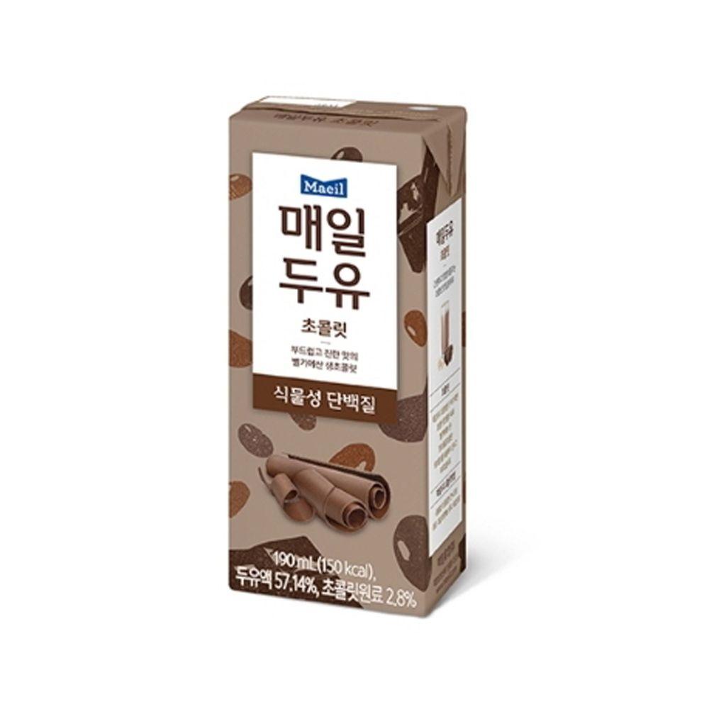 매일두유 초콜릿 190ml x 24팩