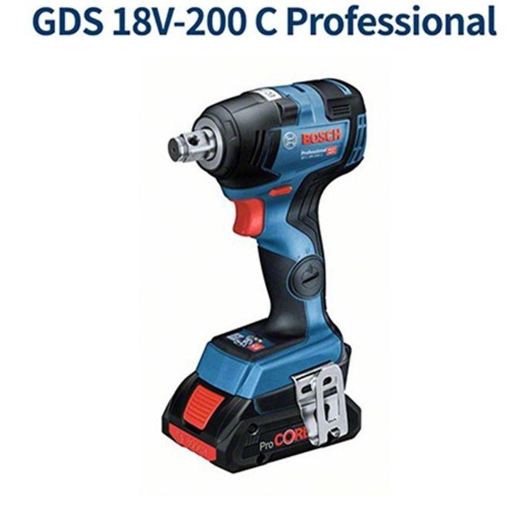 BOSCH 충전 임팩렌치 GDS18V-200C 전동렌치