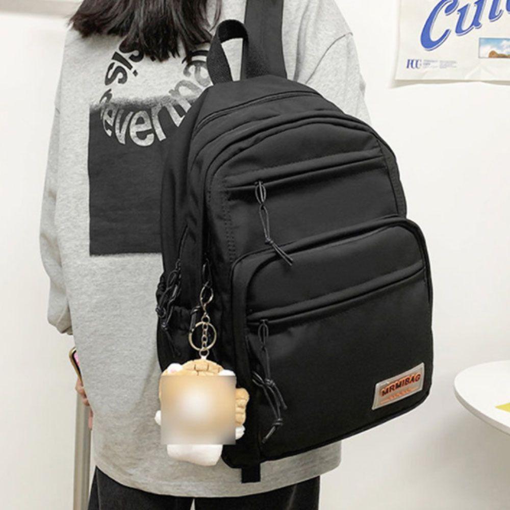 시크릿 포켓 데일리 남녀공용 백팩 학생 인기 가방