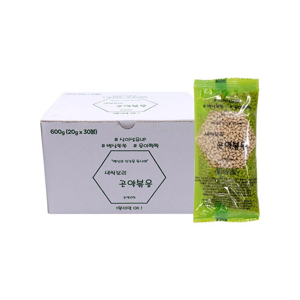 DF새싹보리 곤약볶음(20g x30포) 누룽지씨리얼