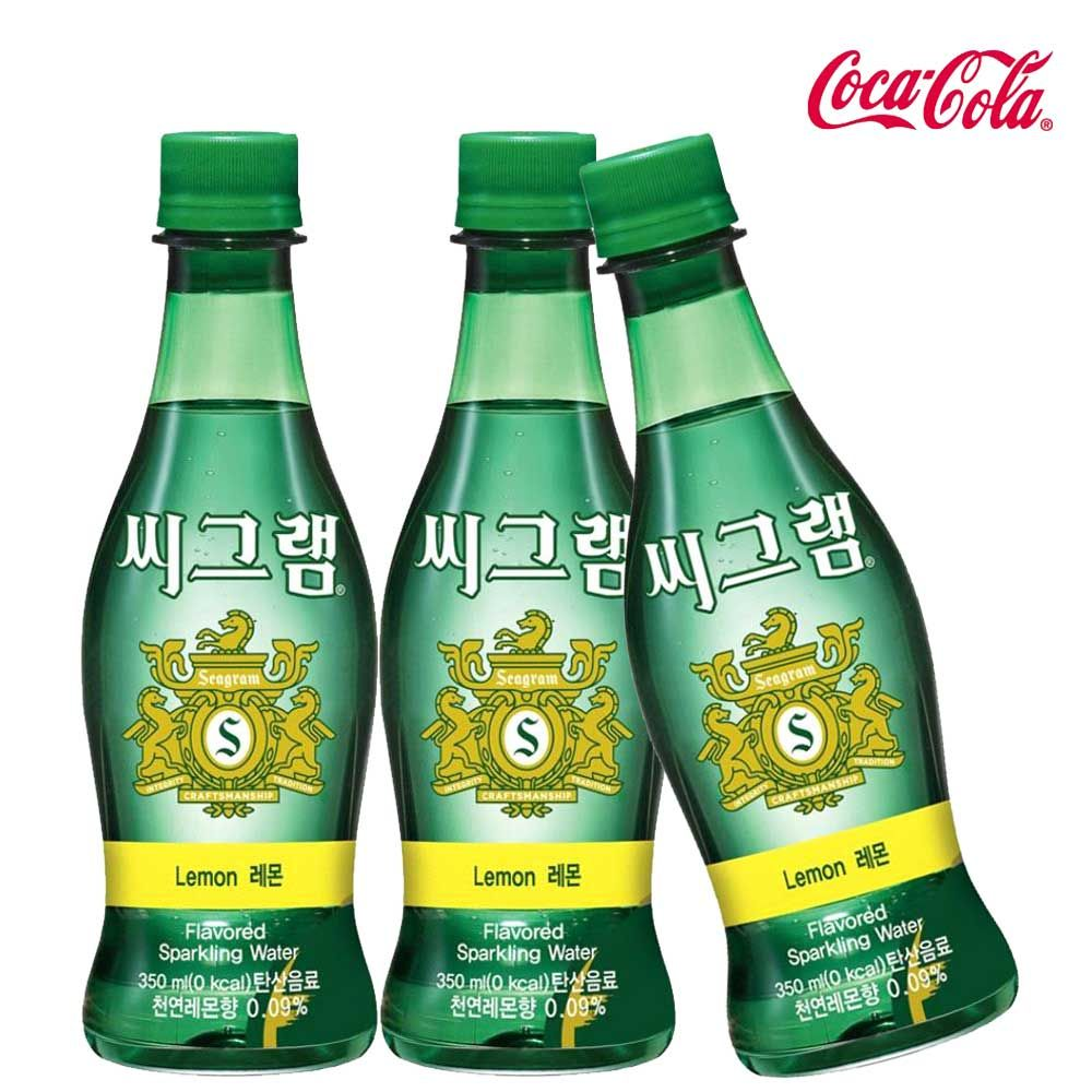 씨그램 레몬 350ml X 12개 탄산음료/탄산수/탄산/음료