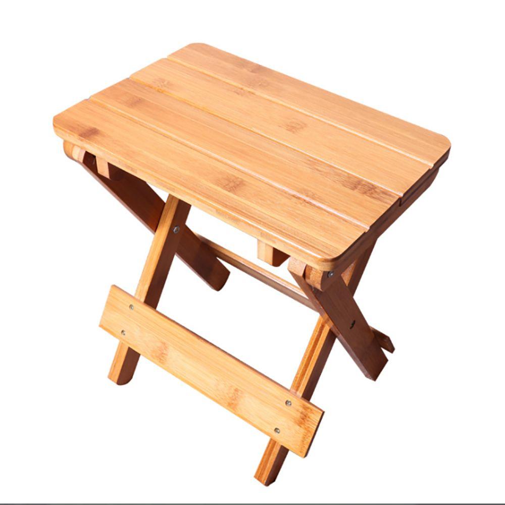 원목 접이식 휴대용 의자 우드 스툴 낮은 간이의자