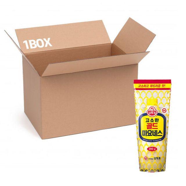 오뚜기 골드마요 튜브 200g (1box 16입)