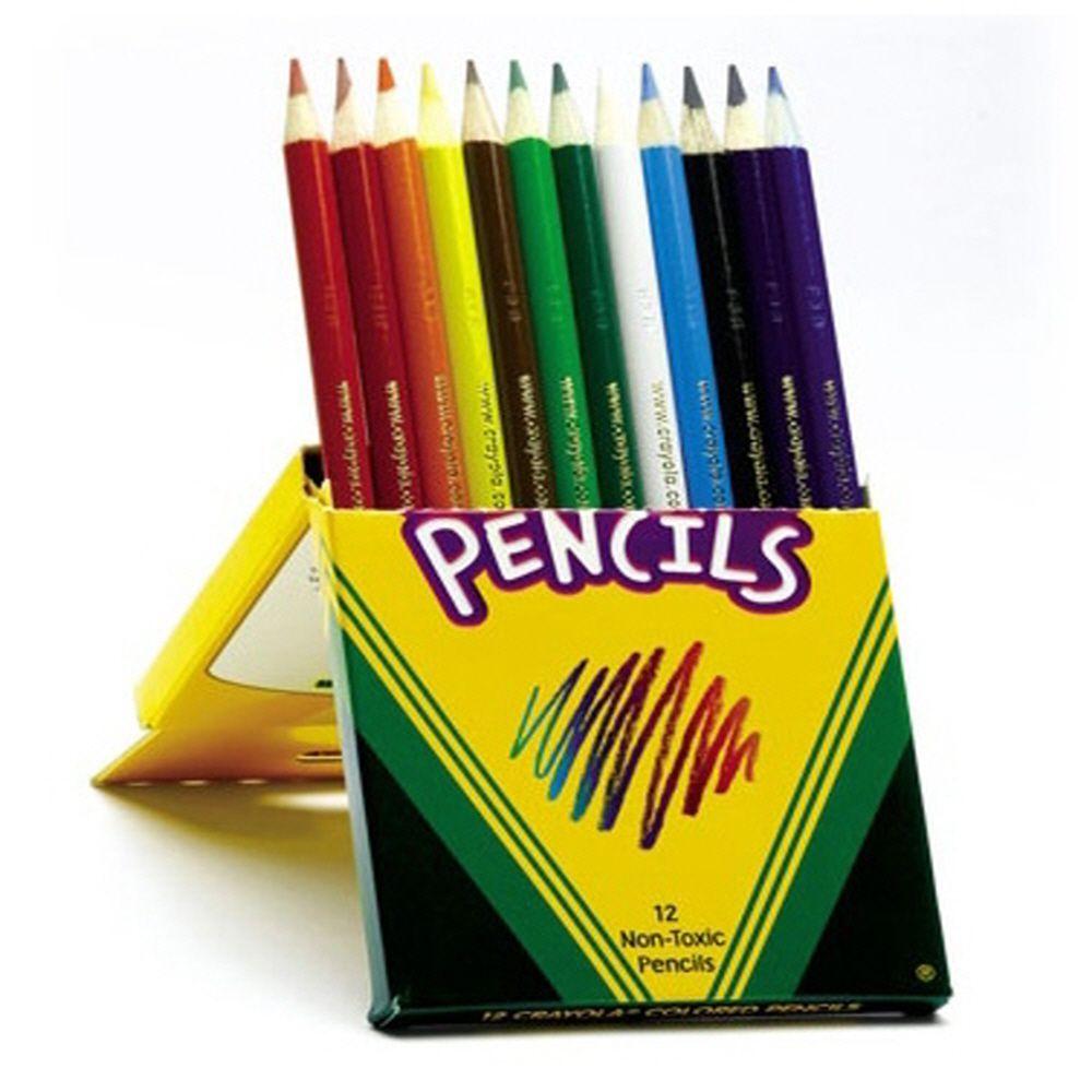 미술용 생일 선물 그림 그리기 색칠 수채색연필 12색