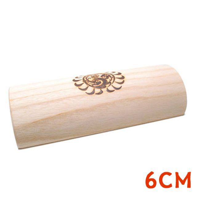 국내산 오동나무베개 고급형 6.0cm 나무베개