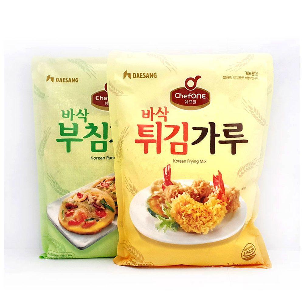 청정원 튀김가루 부침가루 1kg 튀김가루 밀가루