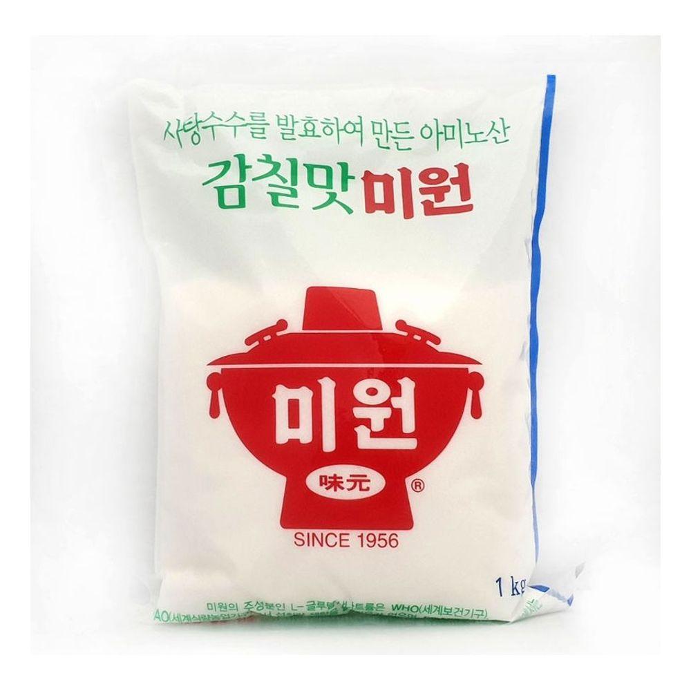감칠맛 미원 1kg 발효 사탕수수 국물 볶음 요리용