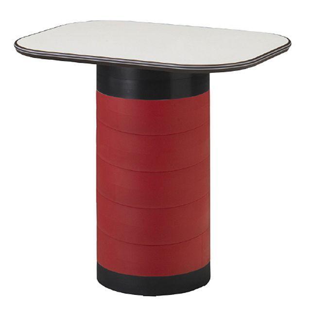 스탠딩 수납 테이블 레드 탁자 다용도 입식 작업 책상