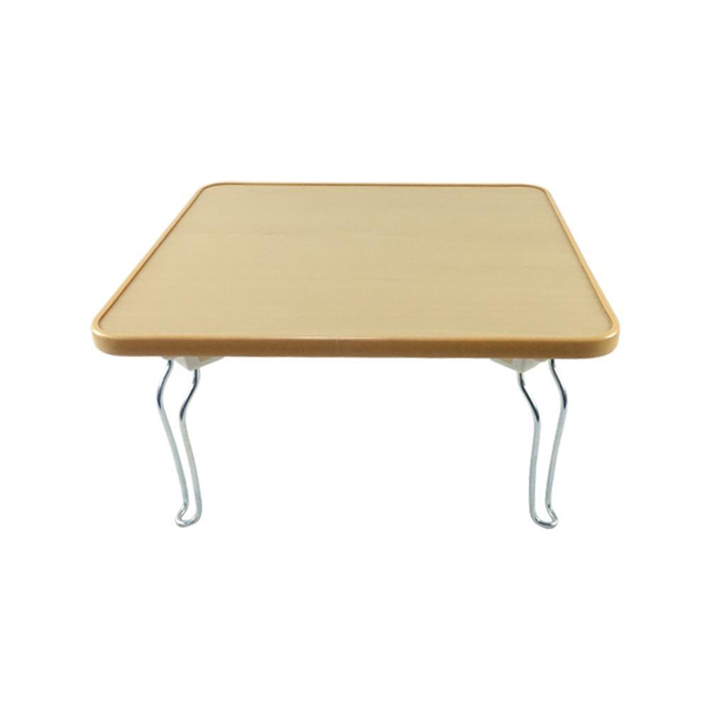 우공 홈테이블 미니 원목 접이식사각테이블