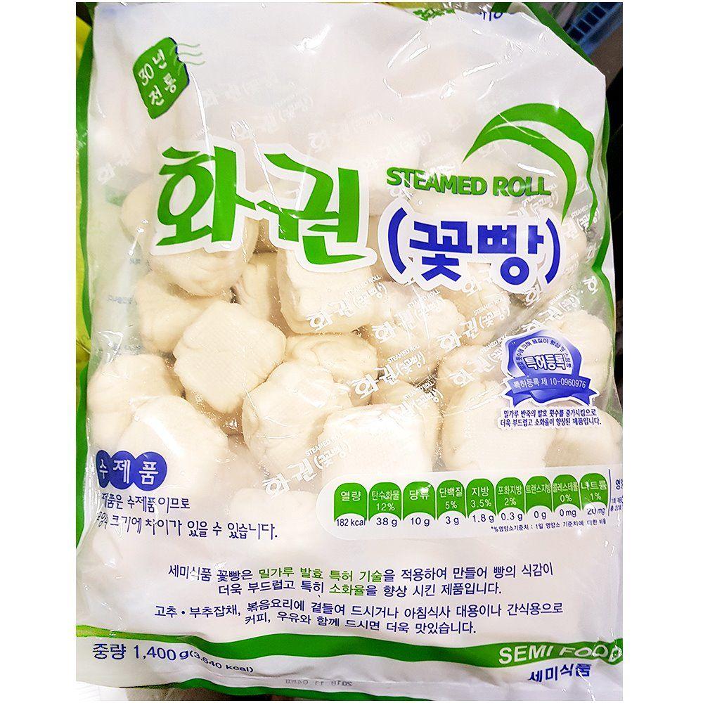 업소용 식자재 세미식품 세미 수제화권 1.4kg 냉동