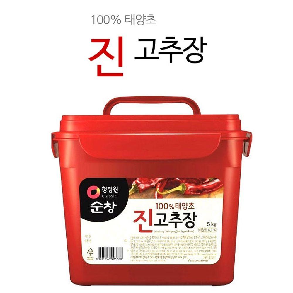 순창 진고추장 5kg 태양초 고추장 전통발효식품 장류