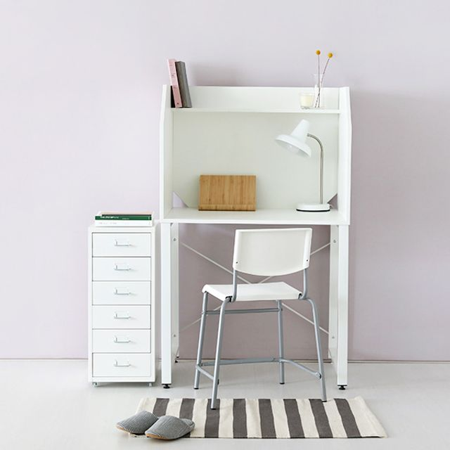 MCQY 마켓비 칸막이 독서실 책상 의자 세트 학생