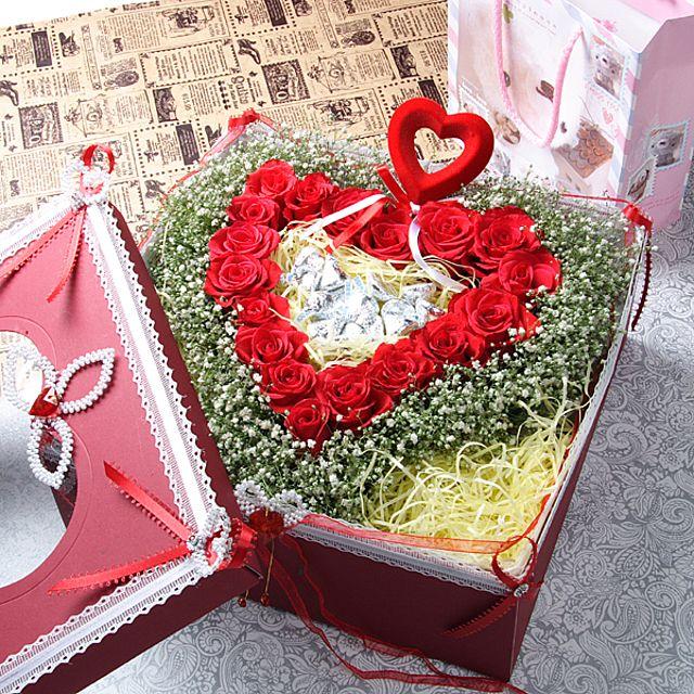 항상그대를 꽃상자-대급 3시간배송 전국 꽃배달 고백 결혼 기념일 감사선물