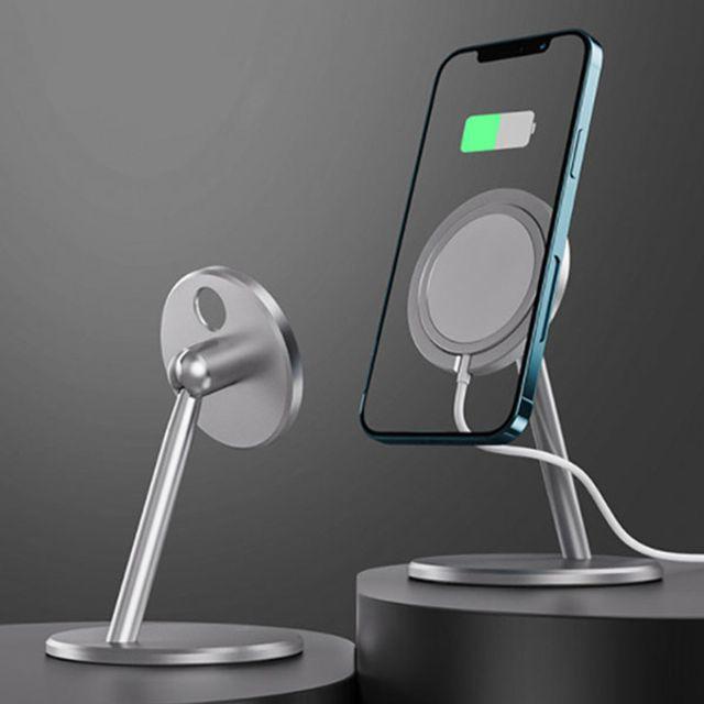 테라 맥세이프 거치대 아이폰12 호환가능 (실버/블루그레이)