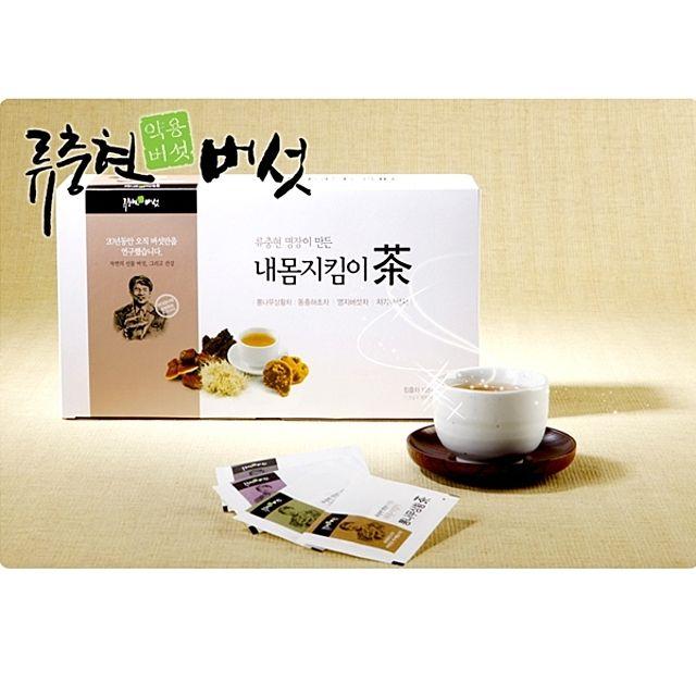류충현 내몸지킴이 버섯차 세트(4가지 맛) 90티백