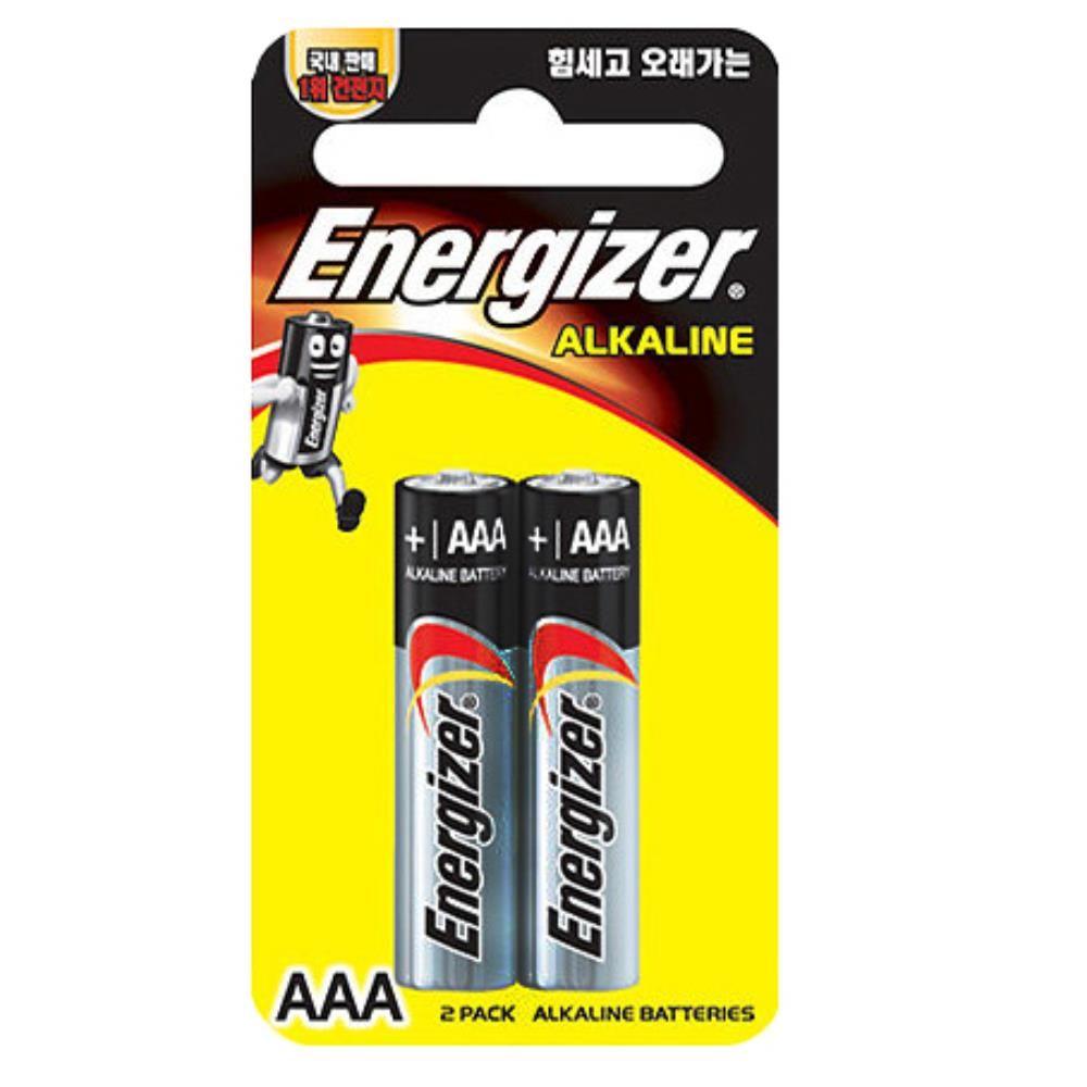 에너자이자 알카라인 도어락 AAA 건전지 전기용품
