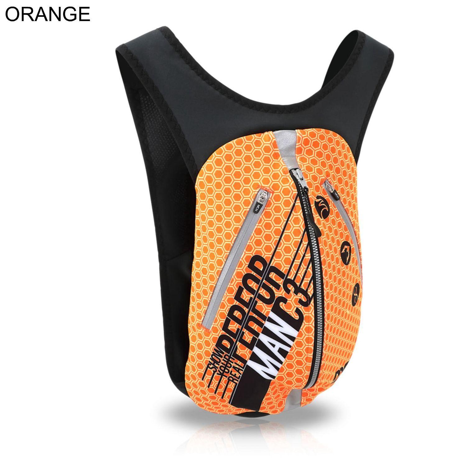 자전거가방 남녀공용 사계절 백팩 가방 오렌지 플렉스