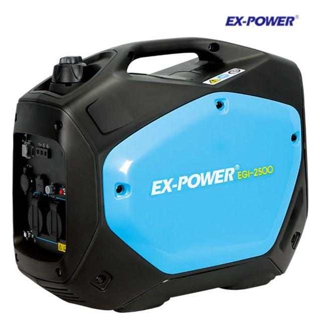 이엑스파워 휴대용 캠핑용 발전기 EGI-2500 2.2KW