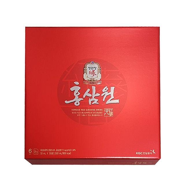 정관장 홍삼원 50ml 30포 건강음료 홍삼음료 부모님선물 명절선물