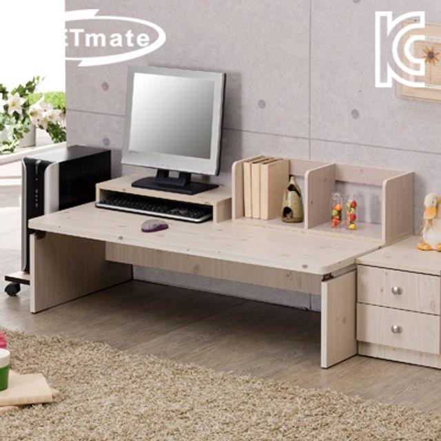 NETmate 좌식 책상 1200x600x320 워시 컴퓨터 테이블