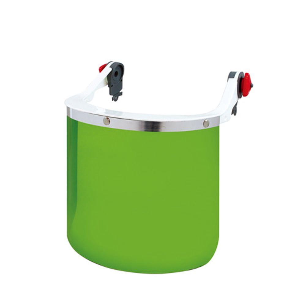 산소용접 사용가능 안전모부착형(홈타입)차광보안면