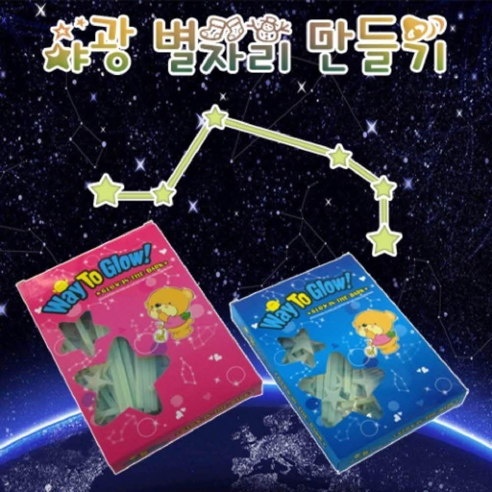 과학 키트 야광 별자리 만들기 실험 상자 교구 초등