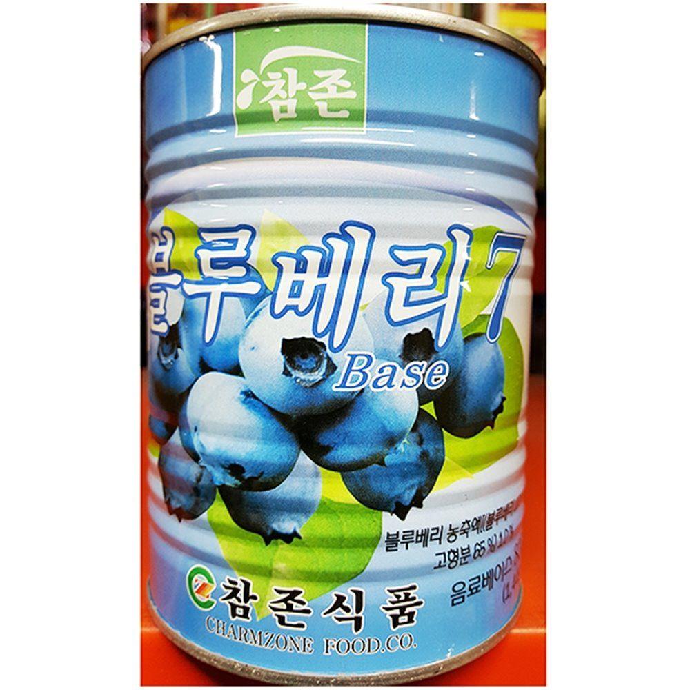 업소용 카페 음료 식자재 블루베리 농축액 835ml X12