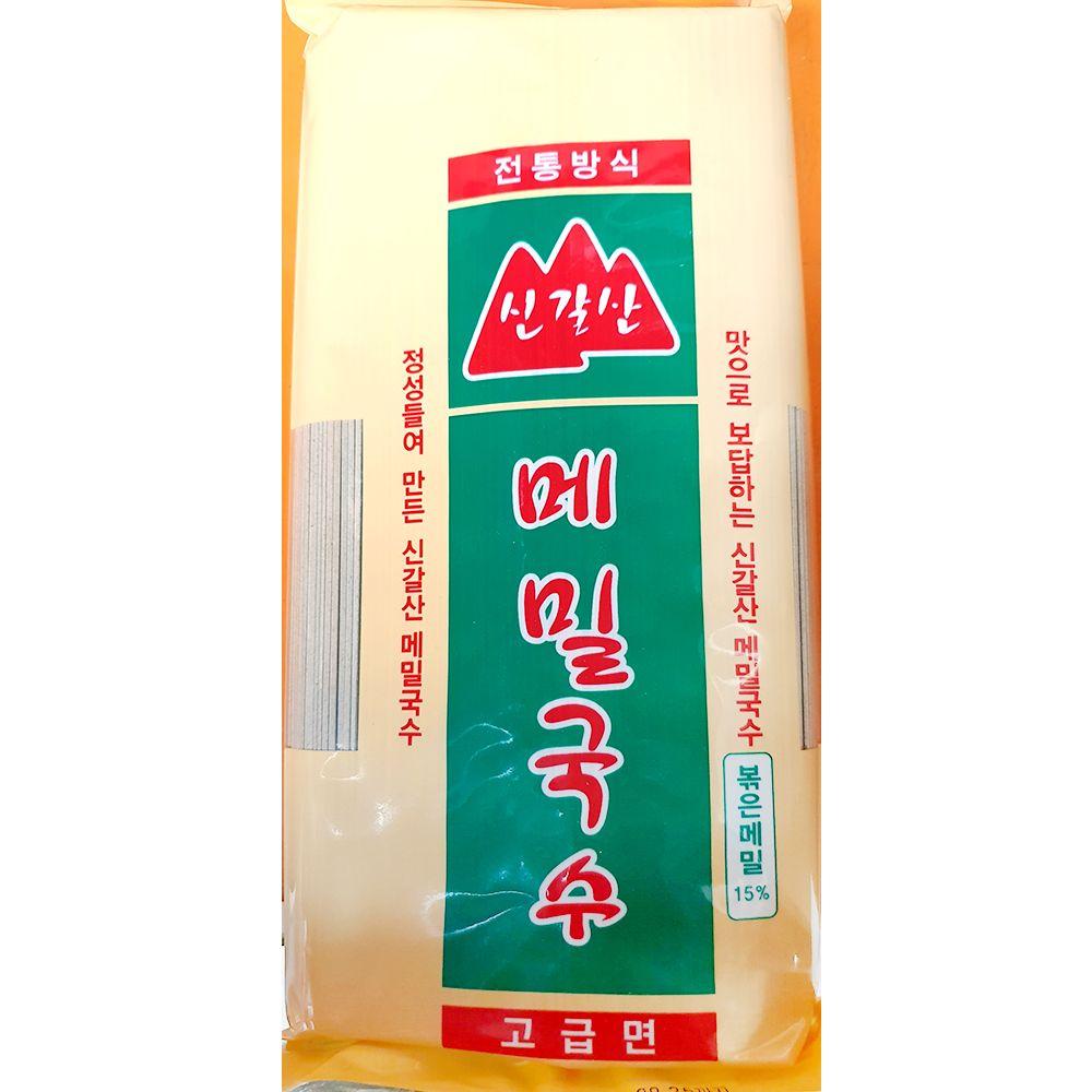 업소용 식자재 신갈산 국수 메밀 1Kg X5 실온보관