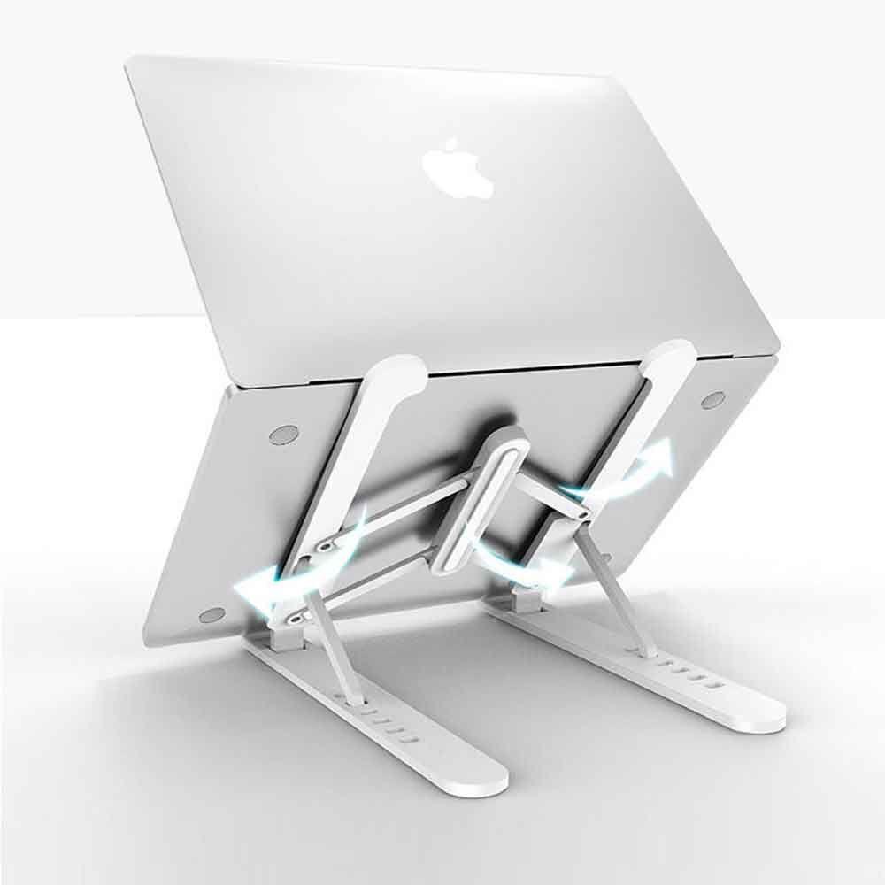 다용도 노트북 태블릿 휴대용 거치대 (6단계 각도조절)