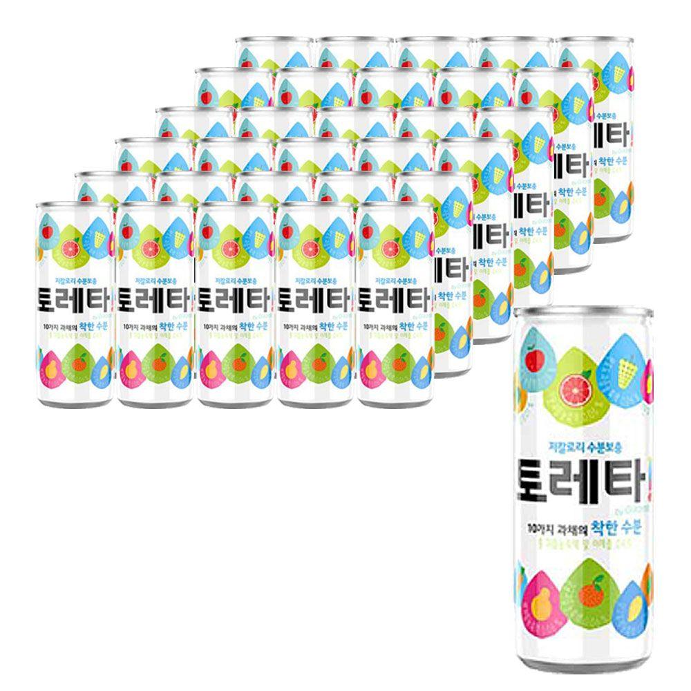 토레타 이온음료 240ml 30개 캔음료 수분음료