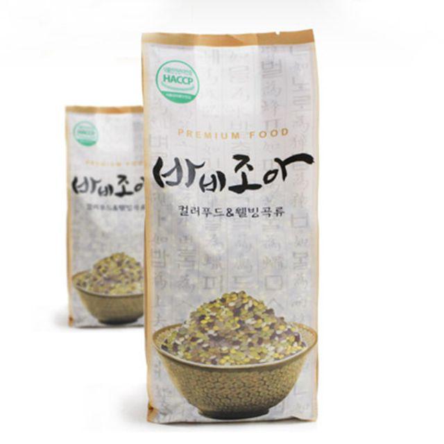 어린이영양 천연 기능성 컬러쌀 1kg
