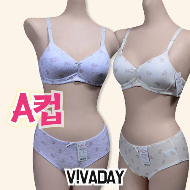 주니어팬티 VIVADAY-CN25 주니어 A컵 브라팬티세트 주니어브라 주니어속옷