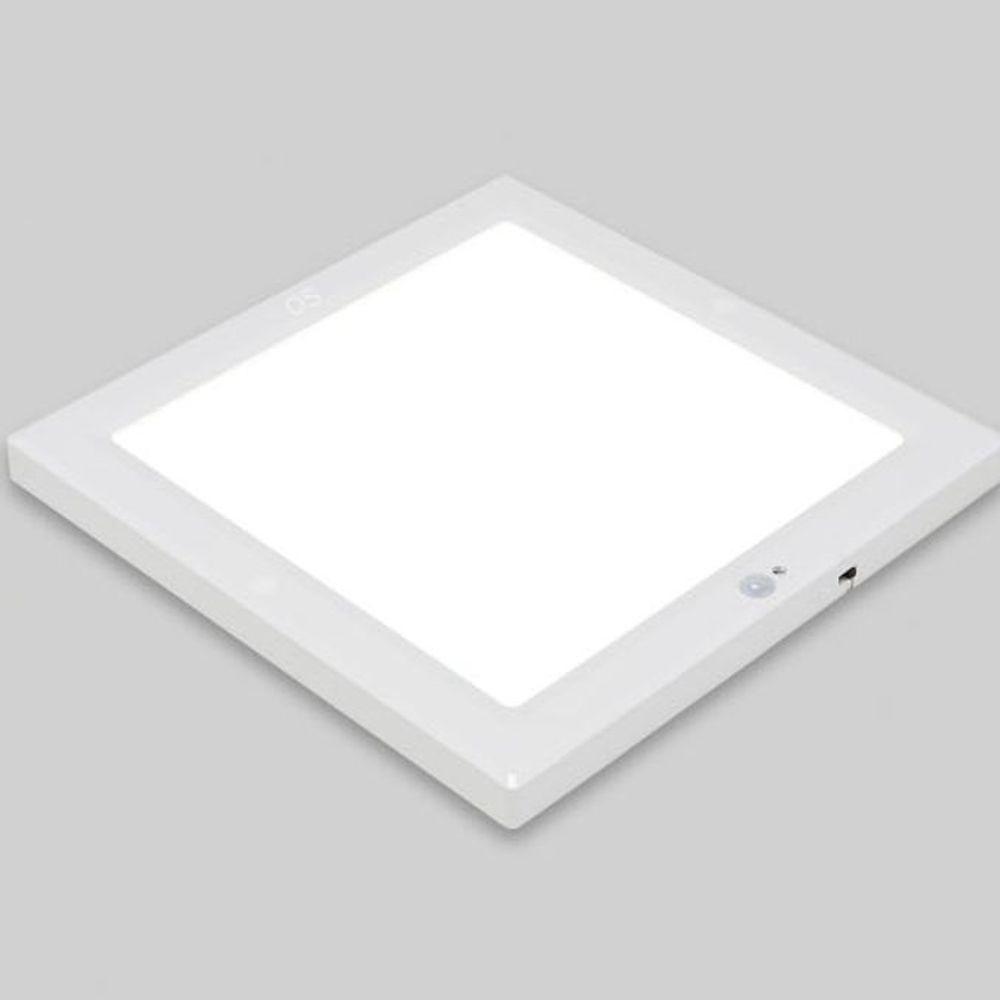 건식 사각 LED 센서등 현관등 계단등 20W 주광색