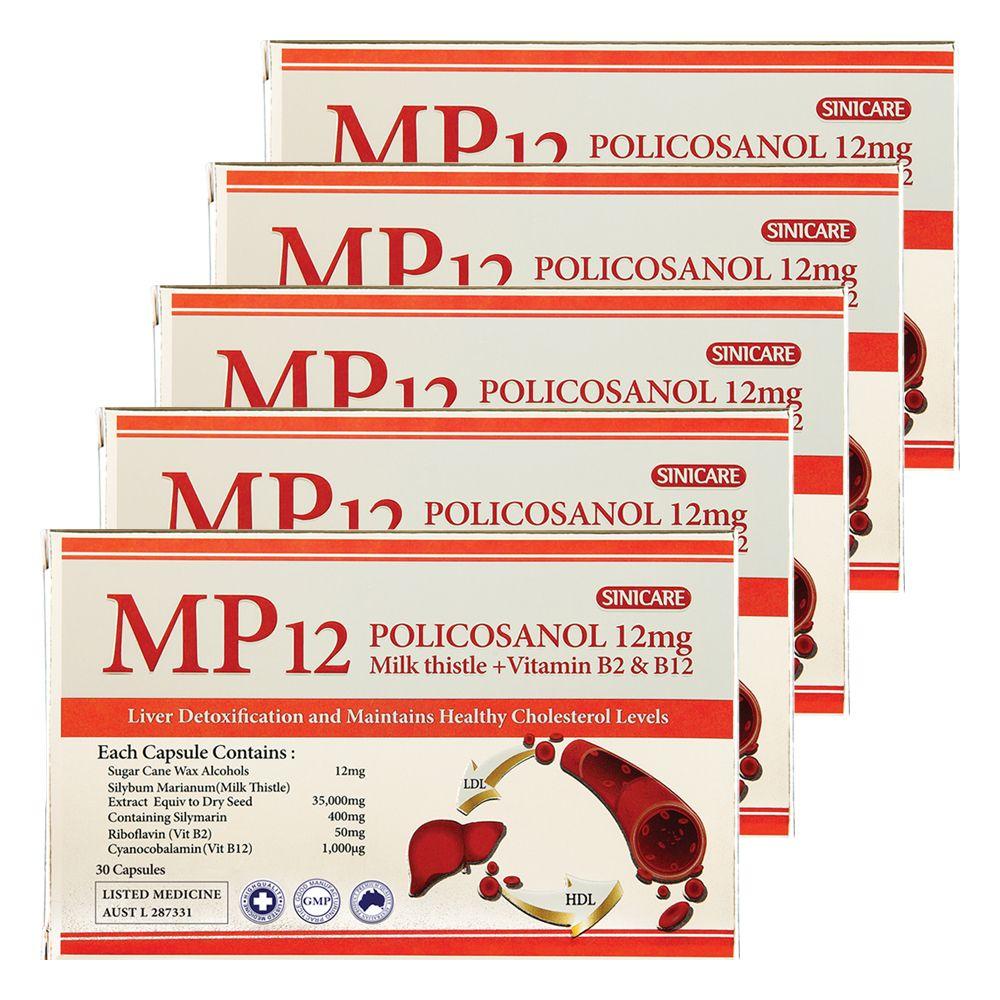 호주 시니케어 MP12 폴리코사놀 12mg 30캡슐 5개세트