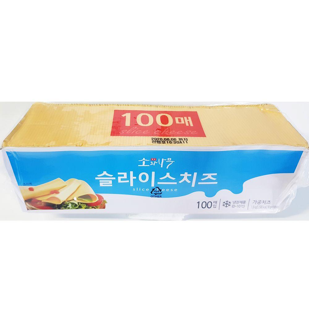 업소용 매장 식당 식자재 재료 슬라이스치즈 1.8kg