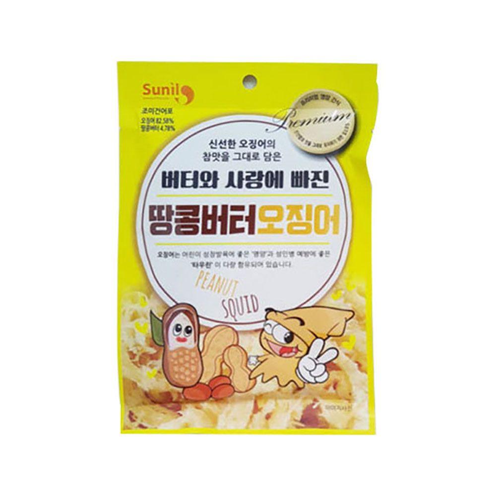선일물산 땅콩버터 오징어 30G 5개입