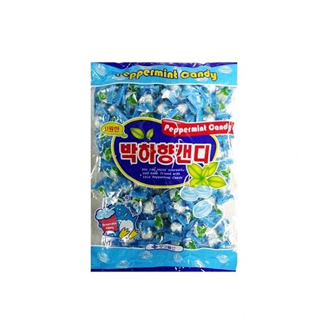 간식류 사탕 박하향캔티 박하사탕 봉지 700g 8ea 양구