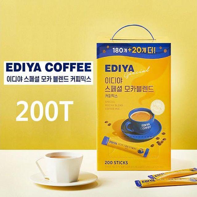 EDIYA 믹스커피 스페셜 모카블렌드 커피믹스 200T