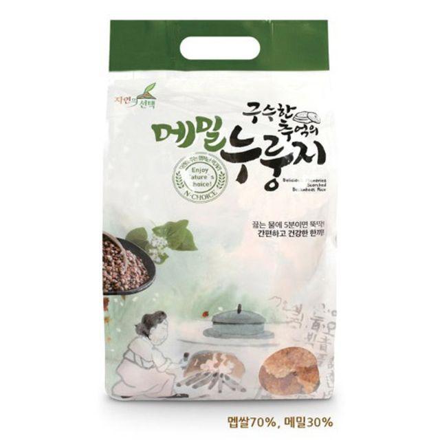 구수한 누룽지 메밀 누룽지 식사대용 숭늉차 1kg