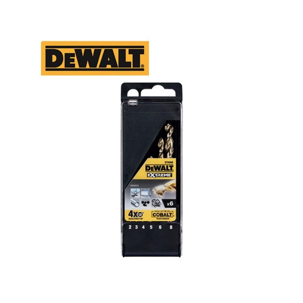 DEWALT 디월트 코발트 철공용 드릴비트 세트 DT4956