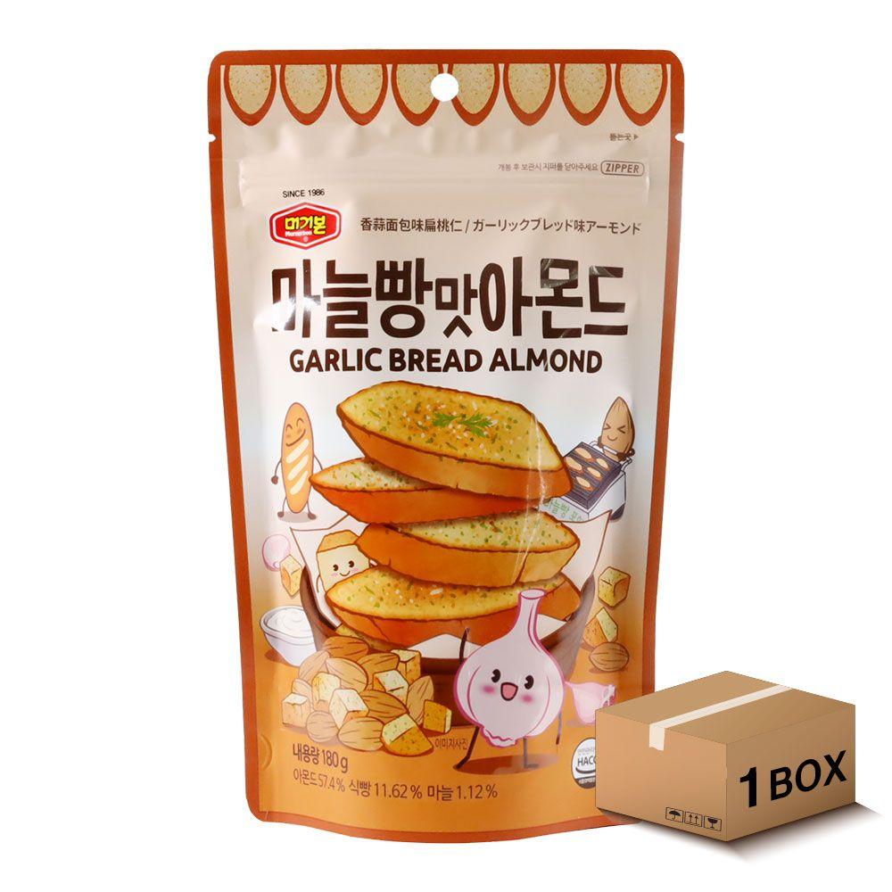 머거본 마늘빵맛아몬드 180g 20봉 1박스