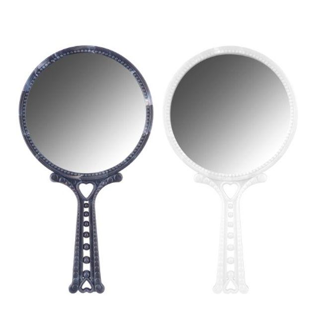 손거울(대리석) (색상랜덤) 휴대용 미러 거울