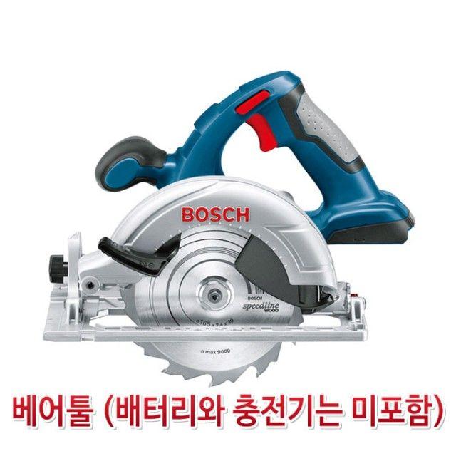 보쉬-5064030 충전원형톱(베어툴)/GKS18V-57LI/18V/3.0Ah