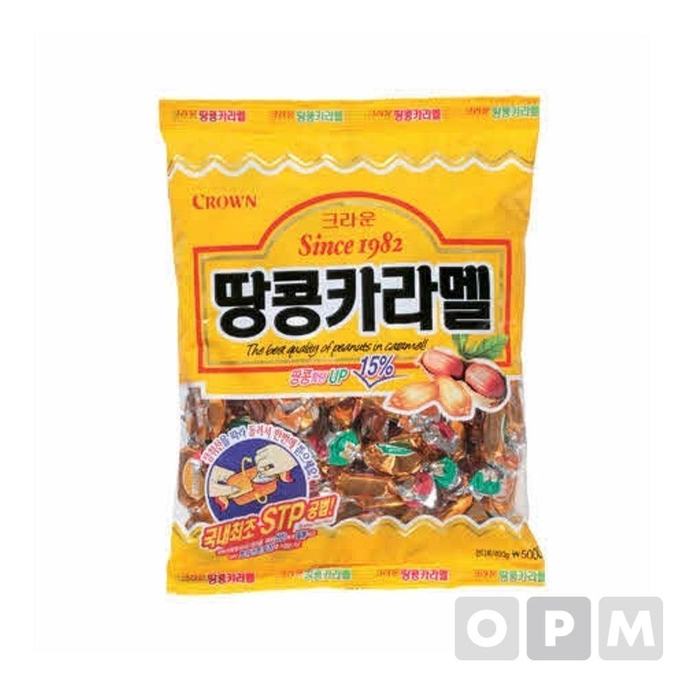 크라운 땅콩카라멜(324g)