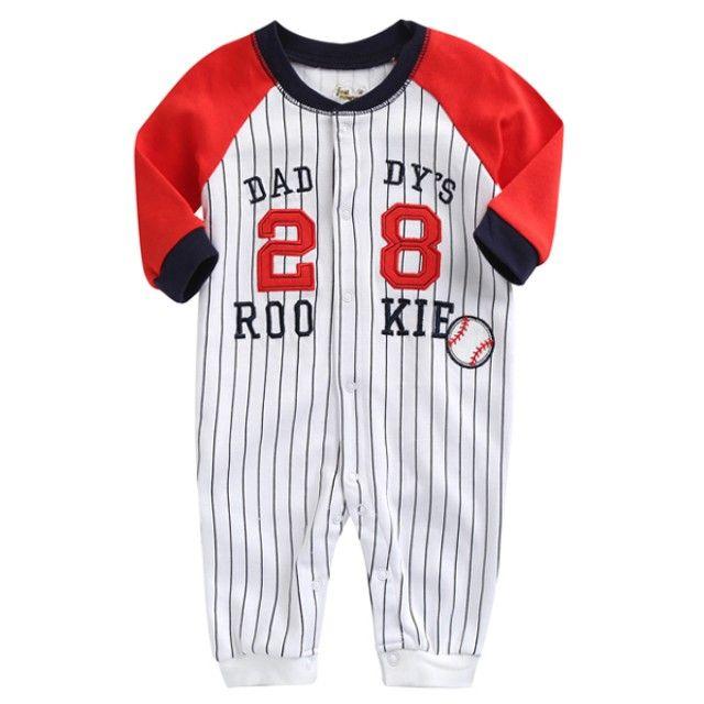 야구공 28 스트라이프 우주복(0-12개월) 203038