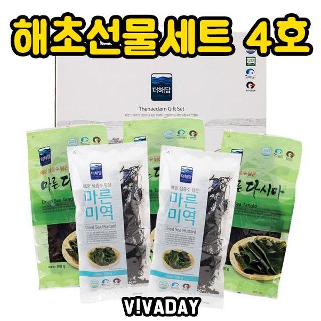 DHD 해초 선물세트 4호