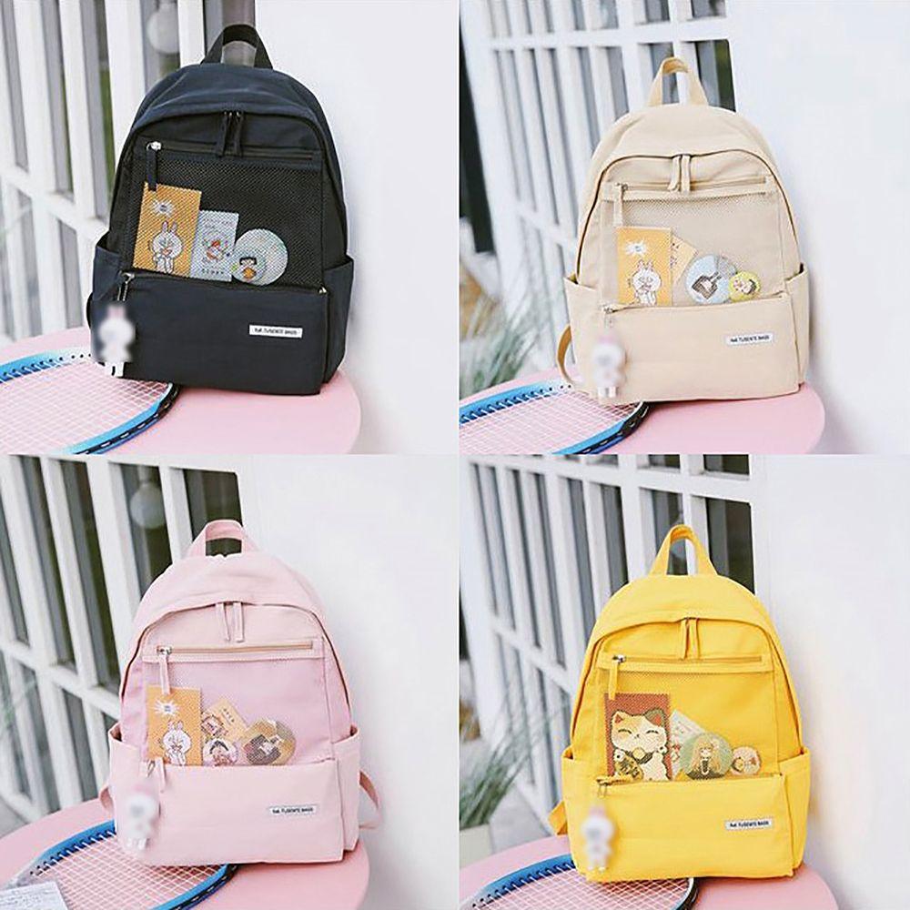 10대 여자 여학생 학교 학원 등교 책가방 백팩 가방